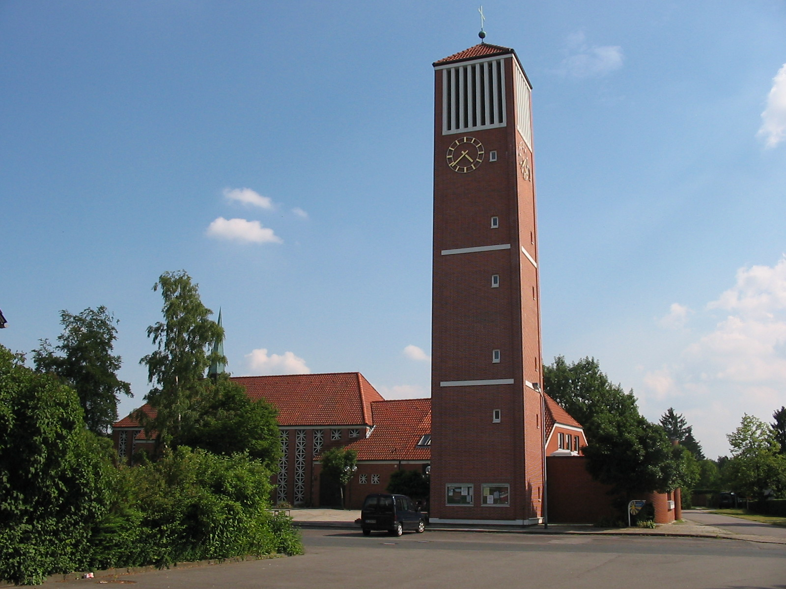 Christuskirche in Westercelle
